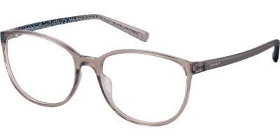 Dioptrické brýle Esprit model 33409, barva obruby hnědá čirá lesk, stranice hnědá lesk, kód barevné varianty 535.