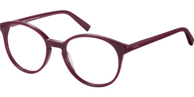 Dioptrické brýle Esprit model 33412, barva obruby vínová lesk, stranice vínová lesk, kód barevné varianty 531.
