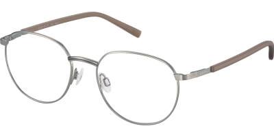 Dioptrické brýle Esprit model 33416, barva obruby hnědá šedá mat, stranice hnědá mat, kód barevné varianty 535.