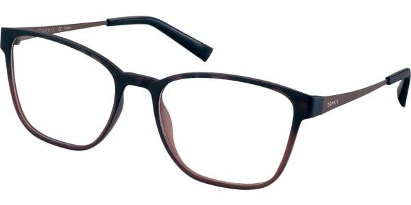 Dioptrické brýle Esprit model 33421, barva obruby hnědá mat, stranice hnědá mat, kód barevné varianty 545.