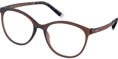 Dioptrické brýle Esprit model 33423, barva obruby hnědá mat, stranice hnědá mat, kód barevné varianty 535.