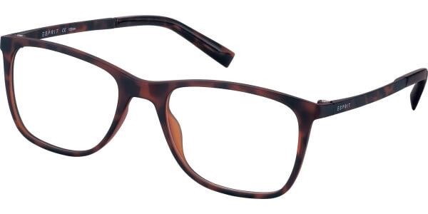 Dioptrické brýle Esprit model 33425, barva obruby hnědá mat, stranice hnědá mat, kód barevné varianty 545.