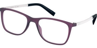 Dioptrické brýle Esprit model 33425, barva obruby fialová mat, stranice bílá mat, kód barevné varianty 577.