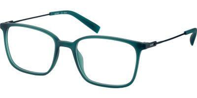 Dioptrické brýle Esprit model 33429, barva obruby zelená mat, stranice černá mat, kód barevné varianty 547.
