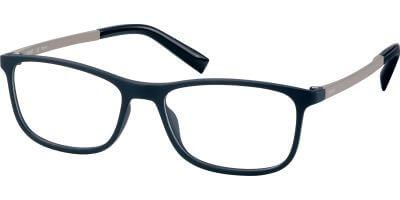 Dioptrické brýle Esprit model 33431, barva obruby černá mat, stranice šedá mat, kód barevné varianty 538.