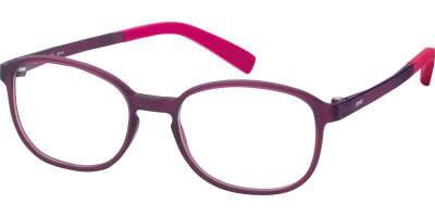 Dioptrické brýle Esprit model 33434, barva obruby fialová mat, stranice fialová mat, kód barevné varianty 577.