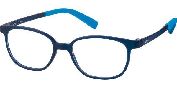 Dioptrické brýle Esprit model 33435, barva obruby modrá mat, stranice modrá mat, kód barevné varianty 543.