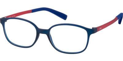 Dioptrické brýle Esprit model 33436, barva obruby modrá mat, stranice červená mat, kód barevné varianty 543.