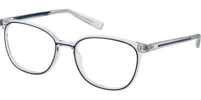 Dioptrické brýle Esprit model 33441, barva obruby čirá černá lesk, stranice čirá černá lesk, kód barevné varianty 505.