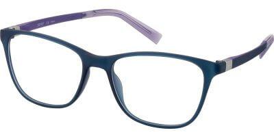 Dioptrické brýle Esprit model 33443, barva obruby modrá mat, stranice modrá mat, kód barevné varianty 505.