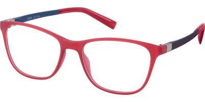 Dioptrické brýle Esprit model 33443, barva obruby červená mat, stranice červená mat, kód barevné varianty 531.