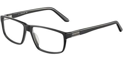 Dioptrické brýle Jaguar model 31018, barva obruby černá lesk, stranice černá lesk, kód barevné varianty 8840.