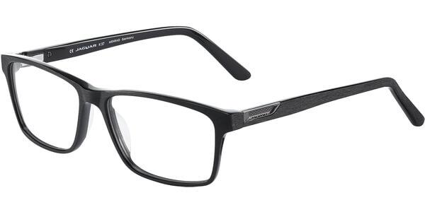 Dioptrické brýle Jaguar model 31021, barva obruby černá mat, stranice černá mat, kód barevné varianty 8840.