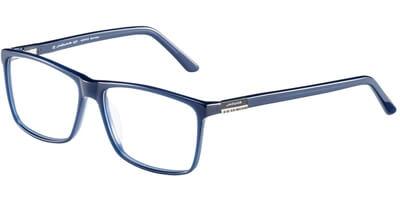 Dioptrické brýle Jaguar model 31022, barva obruby modrá lesk, stranice modrá lesk, kód barevné varianty 6982.
