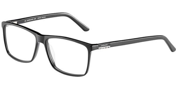 Dioptrické brýle Jaguar model 31022, barva obruby černá mat, stranice černá mat, kód barevné varianty 8840.