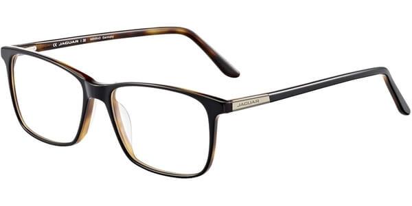 Dioptrické brýle Jaguar model 31023, barva obruby černá hnědá lesk, stranice černá hnědá lesk, kód barevné varianty 6850.