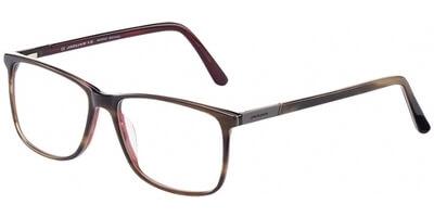 Dioptrické brýle Jaguar model 31025, barva obruby hnědá červená lesk, stranice hnědá červená lesk, kód barevné varianty 4521.