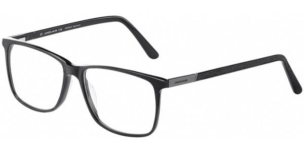 Dioptrické brýle Jaguar model 31025, barva obruby černá mat, stranice černá mat, kód barevné varianty 8840.
