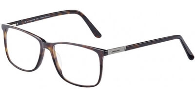 Dioptrické brýle Jaguar model 31025, barva obruby hnědá mat, stranice hnědá lesk, kód barevné varianty 8940.
