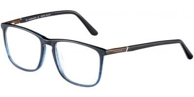 Dioptrické brýle Jaguar model 31026, barva obruby modrá černá mat, stranice černá mat, kód barevné varianty 4611.