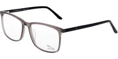 Dioptrické brýle Jaguar model 31028, barva obruby šedá čirá lesk, stranice černá lesk, kód barevné varianty 4788.
