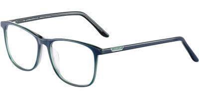 Dioptrické brýle Jaguar model 31516, barva obruby modrá zelená lesk, stranice modrá zelená lesk, kód barevné varianty 4706.