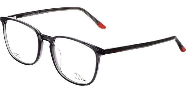 Dioptrické brýle Jaguar model 31517, barva obruby šedá čirá lesk, stranice černá lesk, kód barevné varianty 4627.