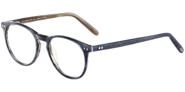 Dioptrické brýle Jaguar model 31, barva obruby modrá hnědá mat, stranice modrá hnědá mat, kód barevné varianty 4522.