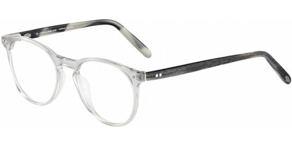 Dioptrické brýle Jaguar model 31, barva obruby čirá lesk, stranice černá šedá mat, kód barevné varianty 4579.