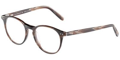 Dioptrické brýle Jaguar model 31, barva obruby hnědá mat, stranice hnědá mat, kód barevné varianty 6809.