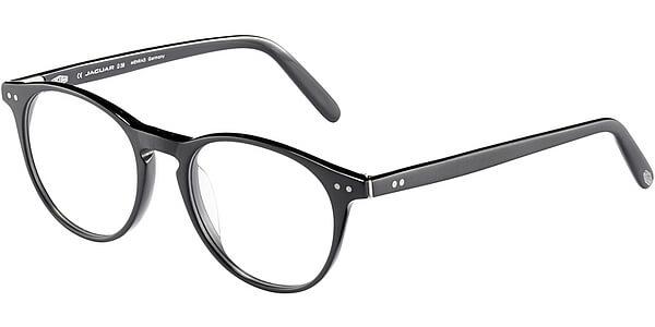 Dioptrické brýle Jaguar model 31, barva obruby černá mat, stranice černá mat, kód barevné varianty 8840.