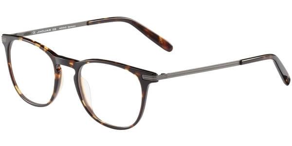 Dioptrické brýle Jaguar model 31705, barva obruby hnědá lesk, stranice stříbrná mat, kód barevné varianty 4247.