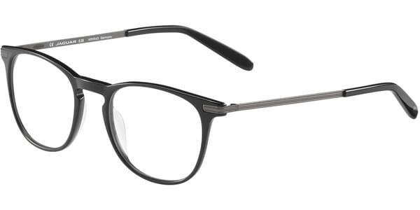 Dioptrické brýle Jaguar model 31705, barva obruby černá lesk, stranice stříbrná mat, kód barevné varianty 6100.