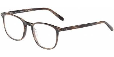 Dioptrické brýle Jaguar model 31707, barva obruby hnědá mat, stranice hnědá mat, kód barevné varianty 6809.