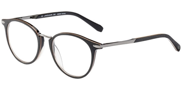 Dioptrické brýle Jaguar model 32701, barva obruby černá hnědá mat, stranice černá mat, kód barevné varianty 4456.