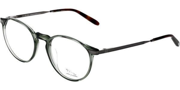 Dioptrické brýle Jaguar model 32704, barva obruby zelená čirá lesk, stranice šedá lesk, kód barevné varianty 4769.