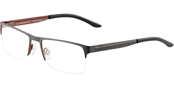 Dioptrické brýle Jaguar model 33077, barva obruby černá mat, stranice černá mat, kód barevné varianty 994.