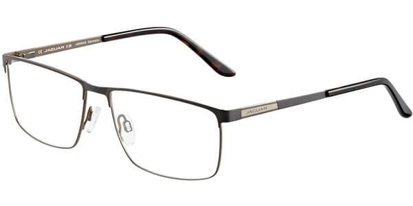 Dioptrické brýle Jaguar model 33087, barva obruby šedá hnědá mat, stranice šedá hnědá mat, kód barevné varianty 1096.