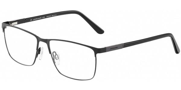 Dioptrické brýle Jaguar model 33092, barva obruby černá mat, stranice černá lesk, kód barevné varianty 1129.