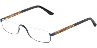 Dioptrické brýle Jaguar model 33095, barva obruby modrá mat, stranice hnědá černá mat, kód barevné varianty 1111.
