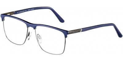 Dioptrické brýle Jaguar model 33101, barva obruby modrá šedá mat, stranice modrá mat, kód barevné varianty 6412.