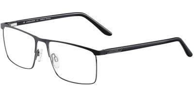 Dioptrické brýle Jaguar model 33105, barva obruby černá mat, stranice černá mat, kód barevné varianty 6100.