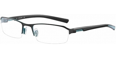 Dioptrické brýle Jaguar model 33513, barva obruby šedá modrá mat, stranice černá modrá lesk, kód barevné varianty 701.