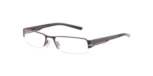 Dioptrické brýle Jaguar model 33534, barva obruby černá mat, stranice černá červená lesk, kód barevné varianty 614.
