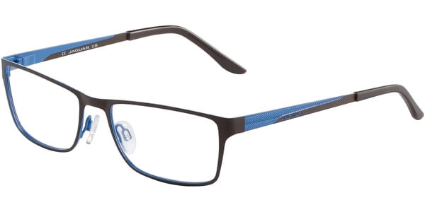 Dioptrické brýle Jaguar model 33567, barva obruby černá mat, stranice černá modrá mat, kód barevné varianty 937.