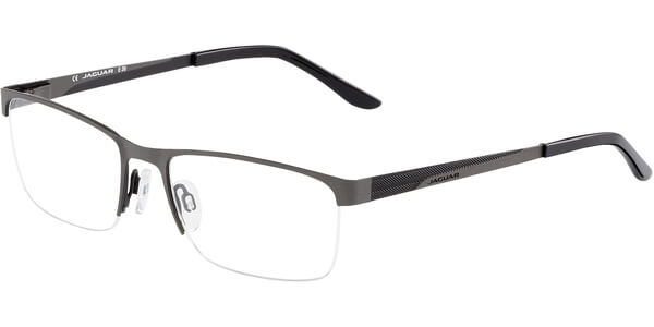 Dioptrické brýle Jaguar model 33568, barva obruby šedá mat, stranice šedá černá mat, kód barevné varianty 944.