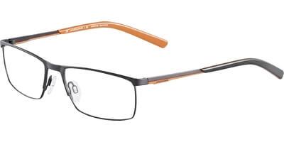 Dioptrické brýle Jaguar model 33574, barva obruby černá mat, stranice černá oranžová mat, kód barevné varianty 978.