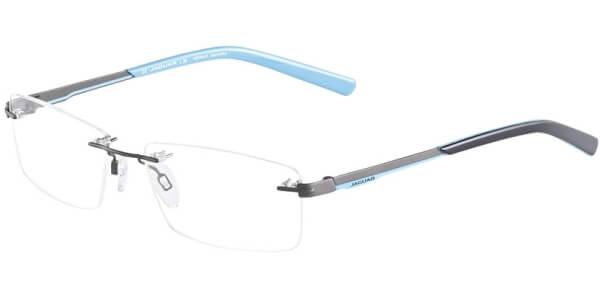 Dioptrické brýle Jaguar model 33576, barva obruby šedá mat, stranice šedá modrá mat, kód barevné varianty 979.