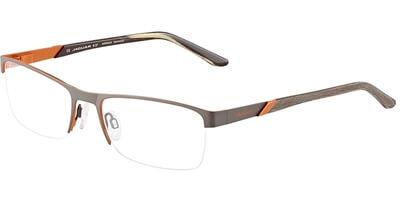 Dioptrické brýle Jaguar model 33579, barva obruby hnědá oranžová mat, stranice hnědá oranžová mat, kód barevné varianty 1013.