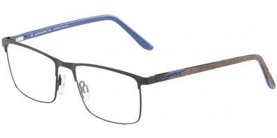 Dioptrické brýle Jaguar model 33594, barva obruby černá mat, stranice hnědá modrá mat, kód barevné varianty 1136.